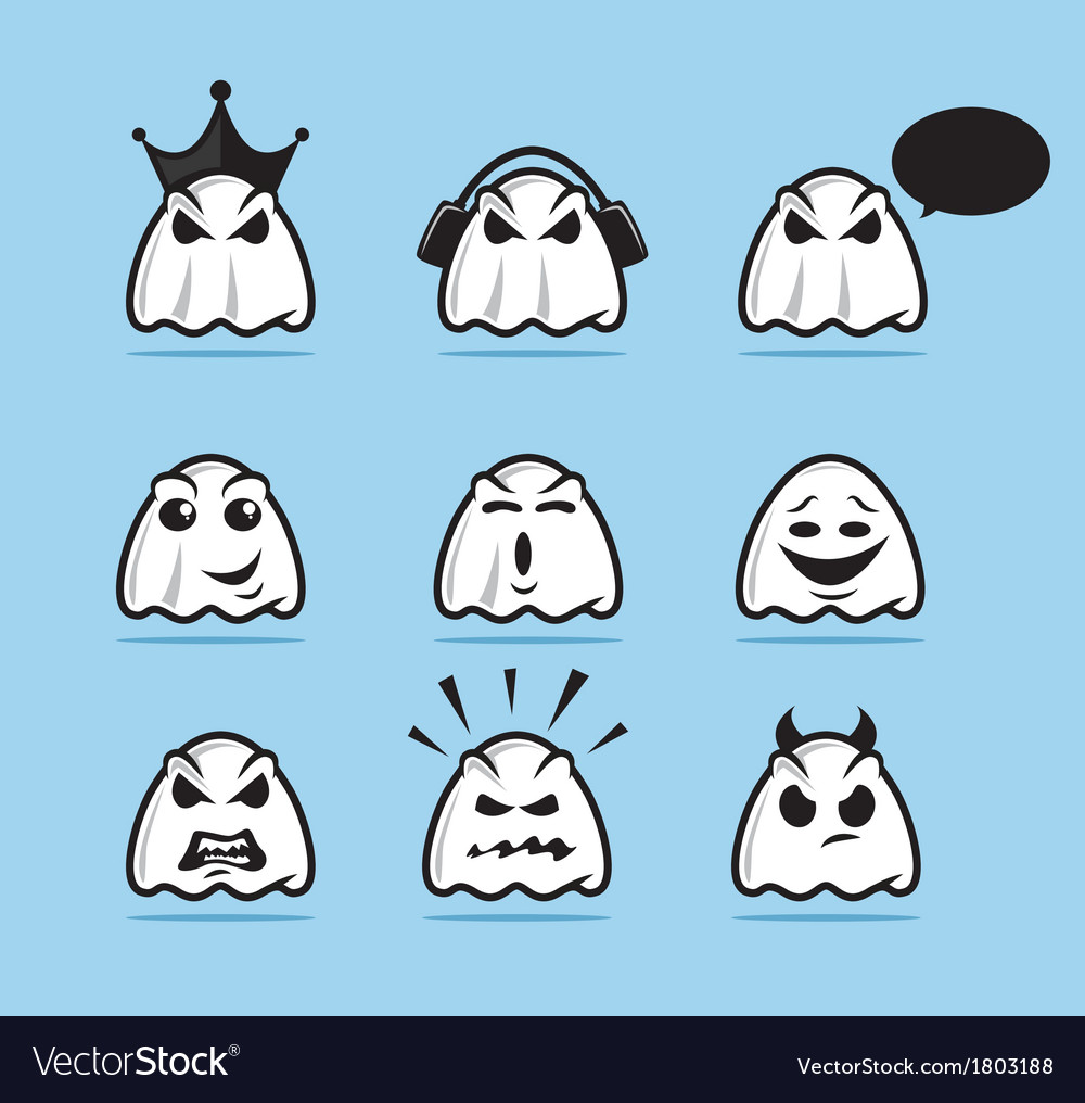 Ghost Icon Set