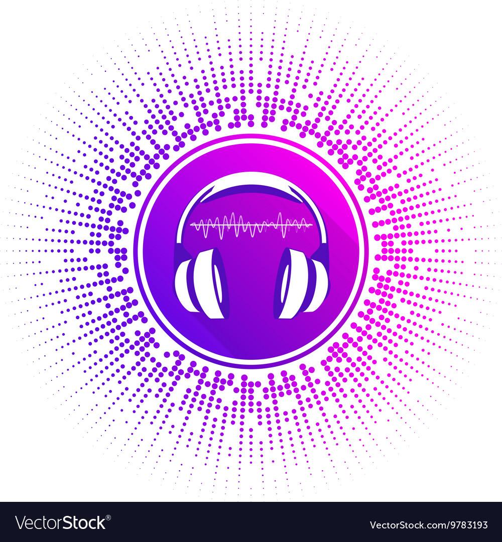 Stylized headphones