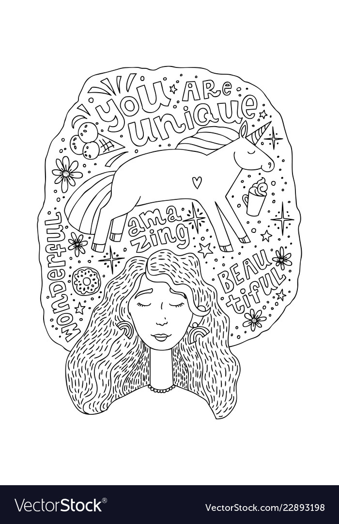 Young beautiful girl with closed eyes in a pink