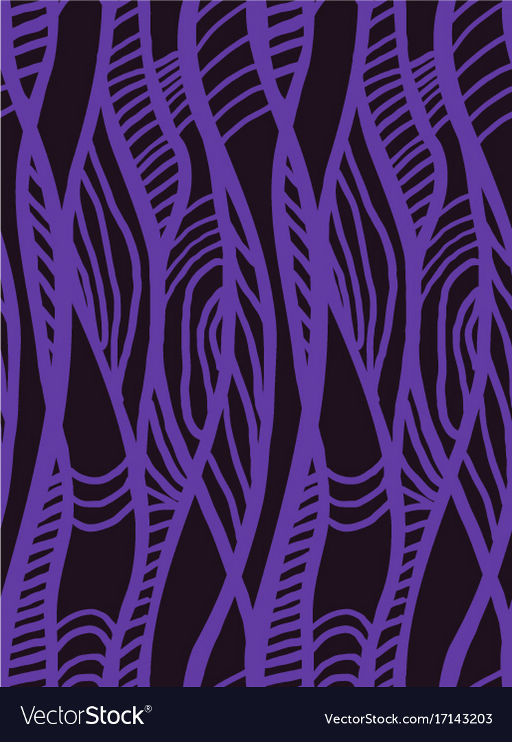 Abstract geometric pattern with wavy line