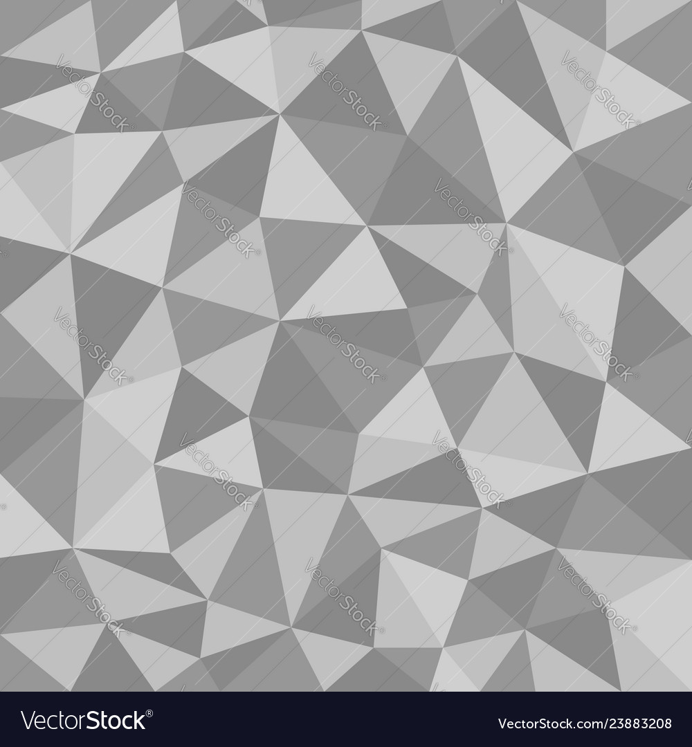 Black and white polygonal texture