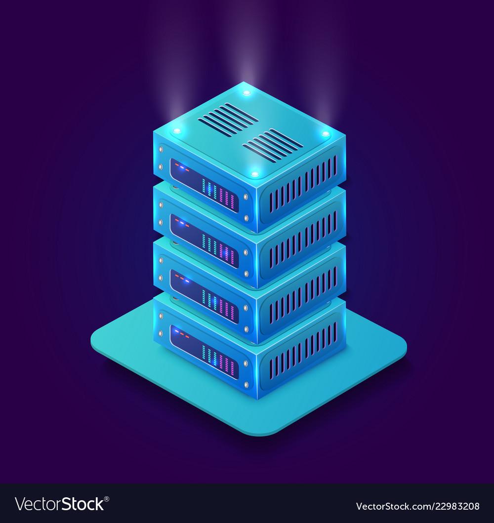 Isometric 3d blockchain