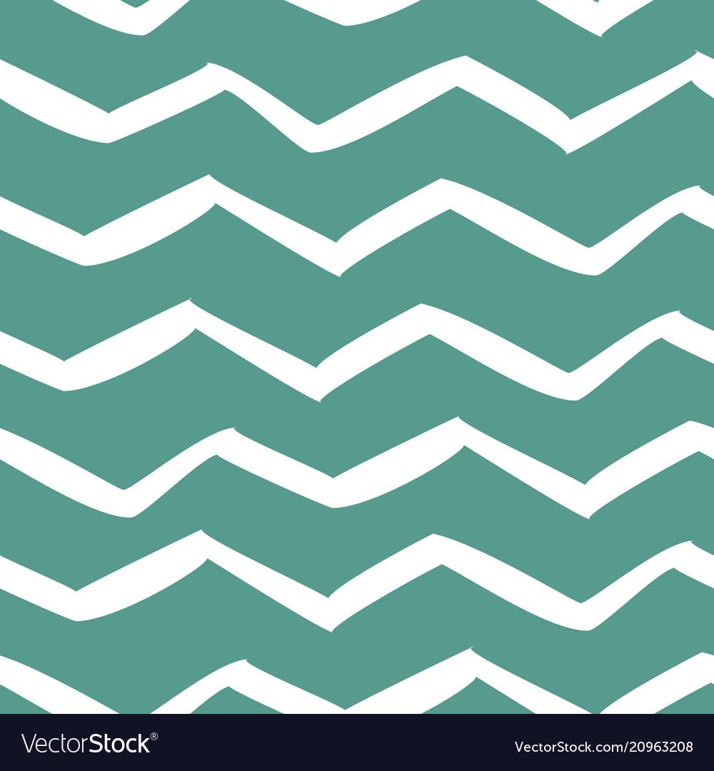 White zigzag seamless pattern trendy geometric