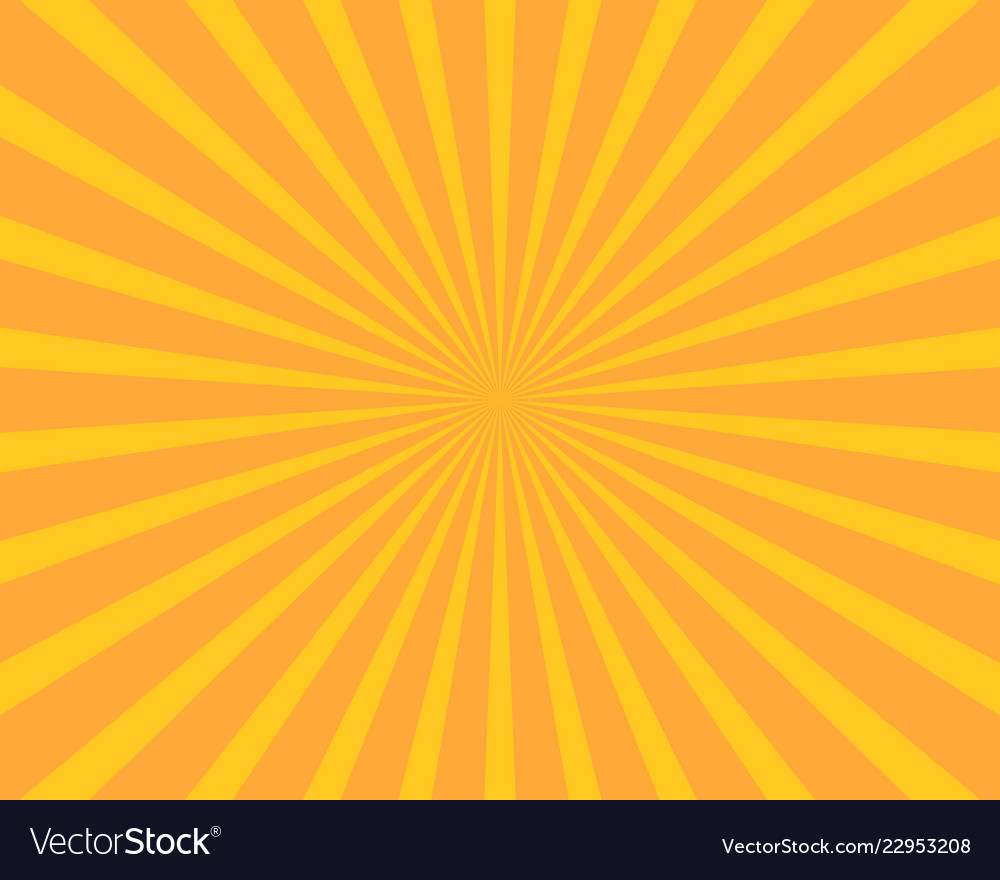 Yellow sun burst background abstract and