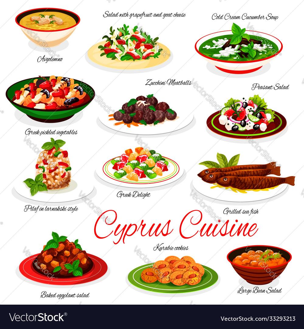 Cyprus cuisine menu cyprian national dishes