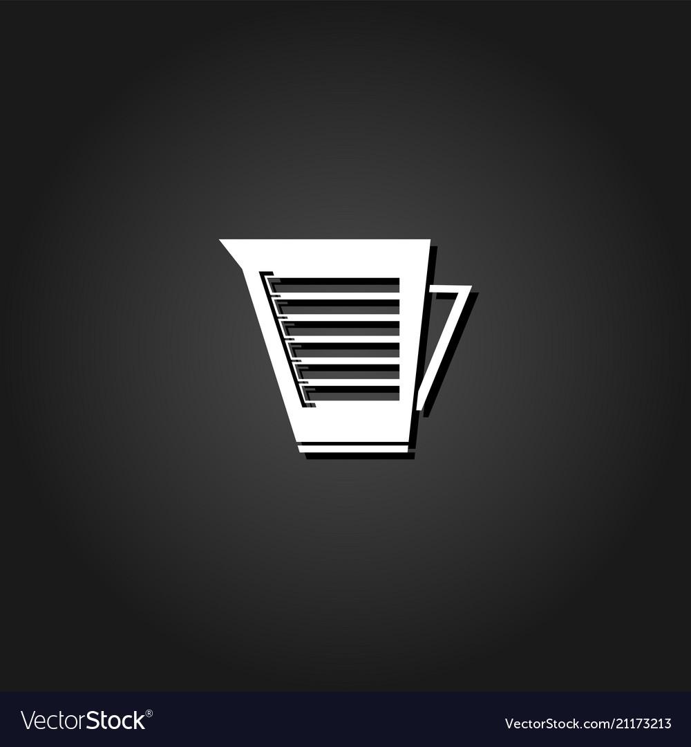 Kettle icon flat