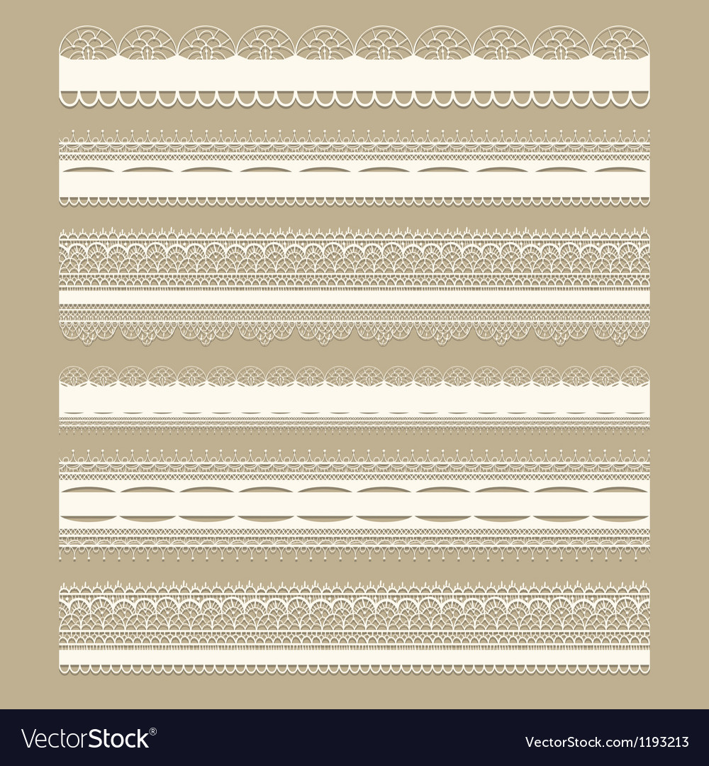 Lacy vintage design elements