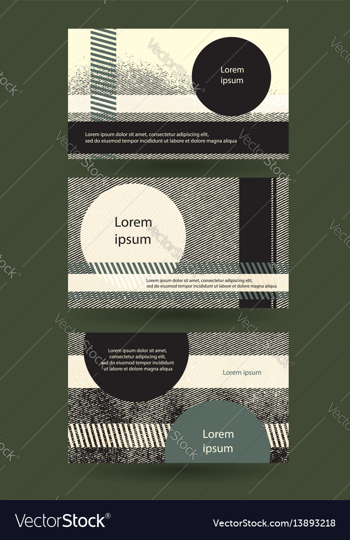 Abstract grungy horizontal layout with copy-space vector image