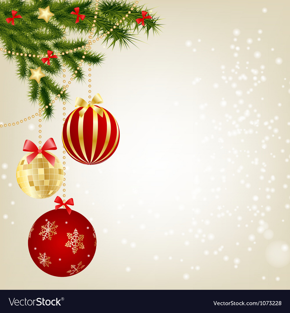 elegant christmas background royalty free vector image