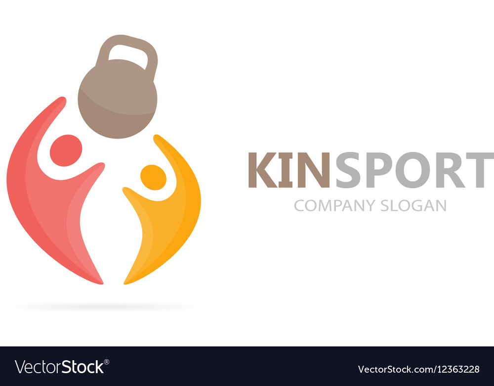 Sport and people logo combination Fitness