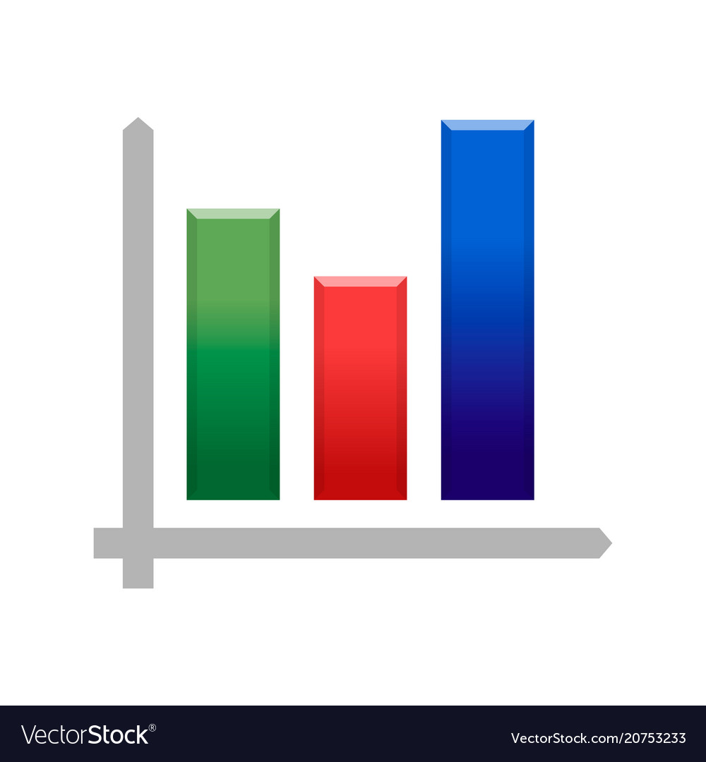 Bitcoin crypto currency growing chart icon