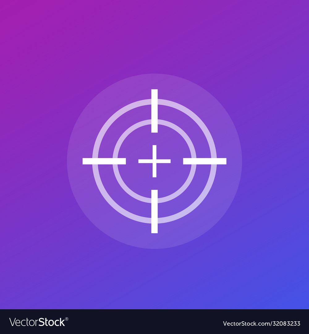 Target or crosshair icon