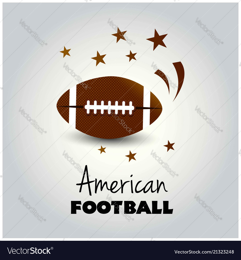 An american football flyer design perfect for