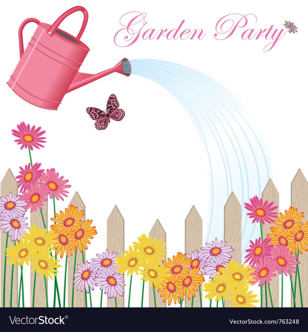 Garden party shower