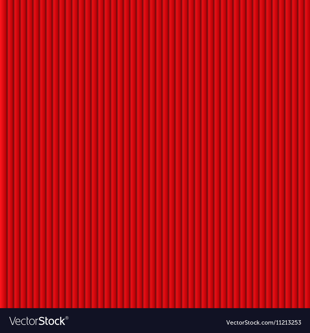 Red galousie Volume of vertical lines