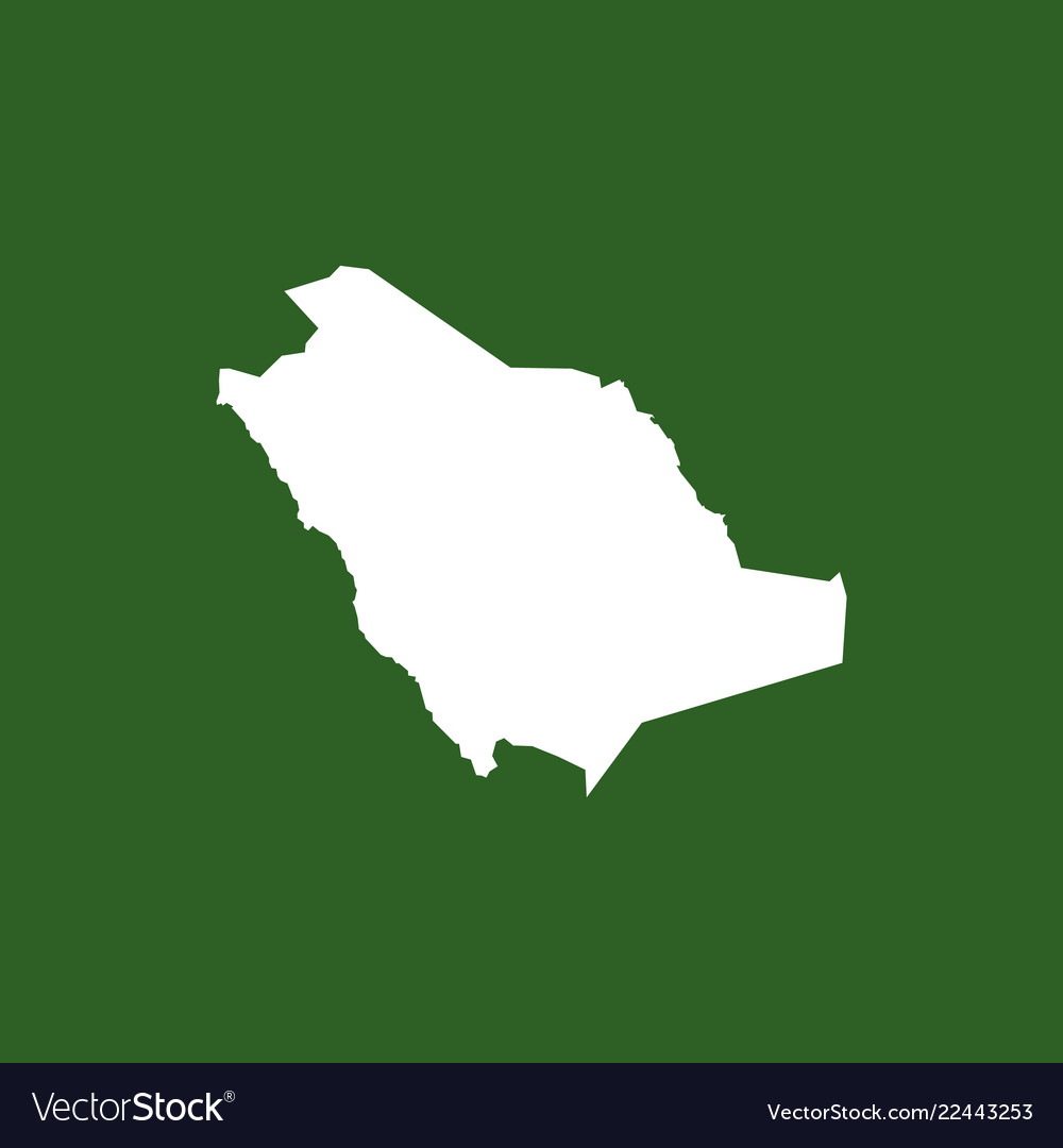Saud arabia map icon