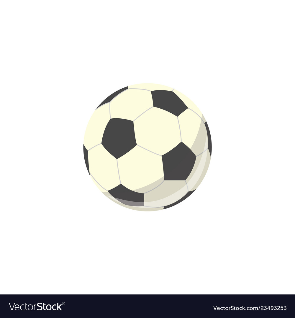 Soccer ball football equipment simple icon