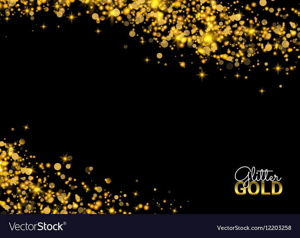 Abstract Sparkling Luminous Golden grainy abstract