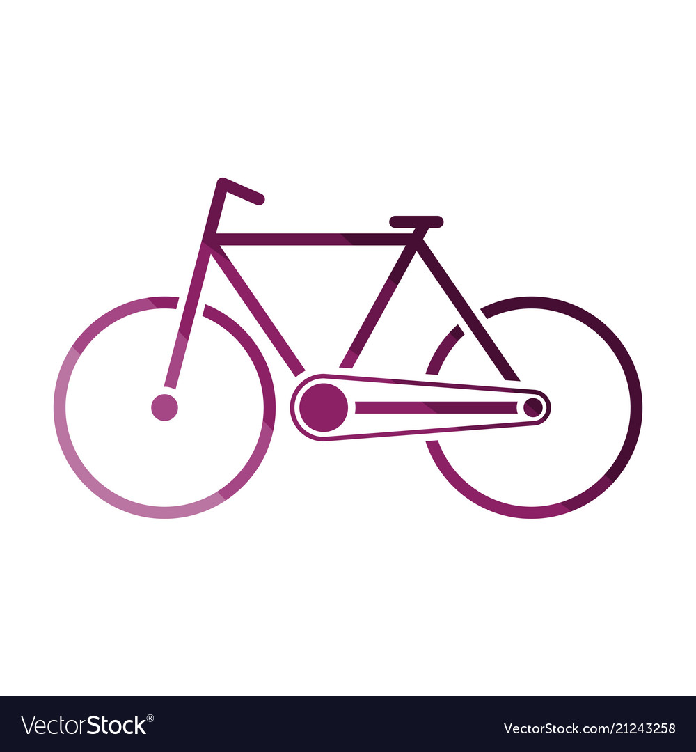 Ecological bike icon