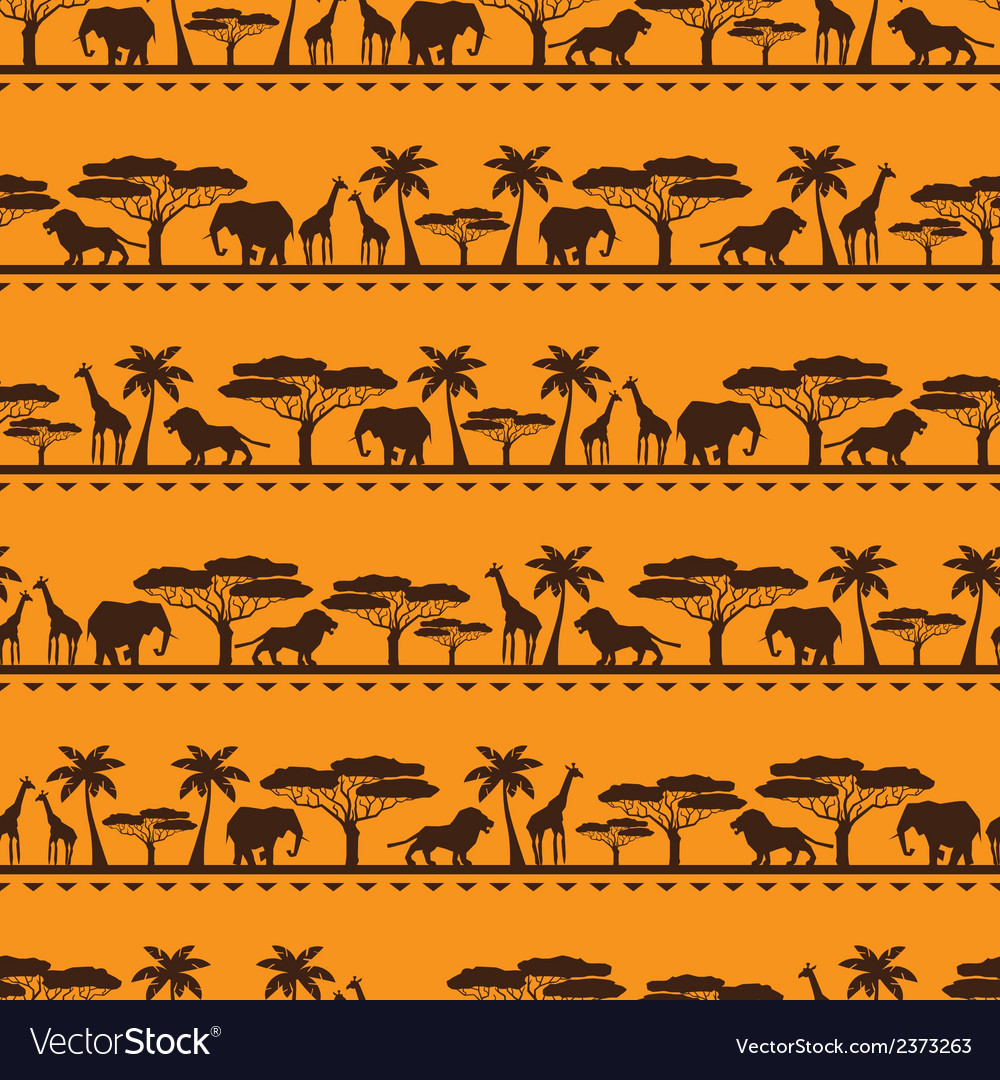 African ethnic seamless pattern