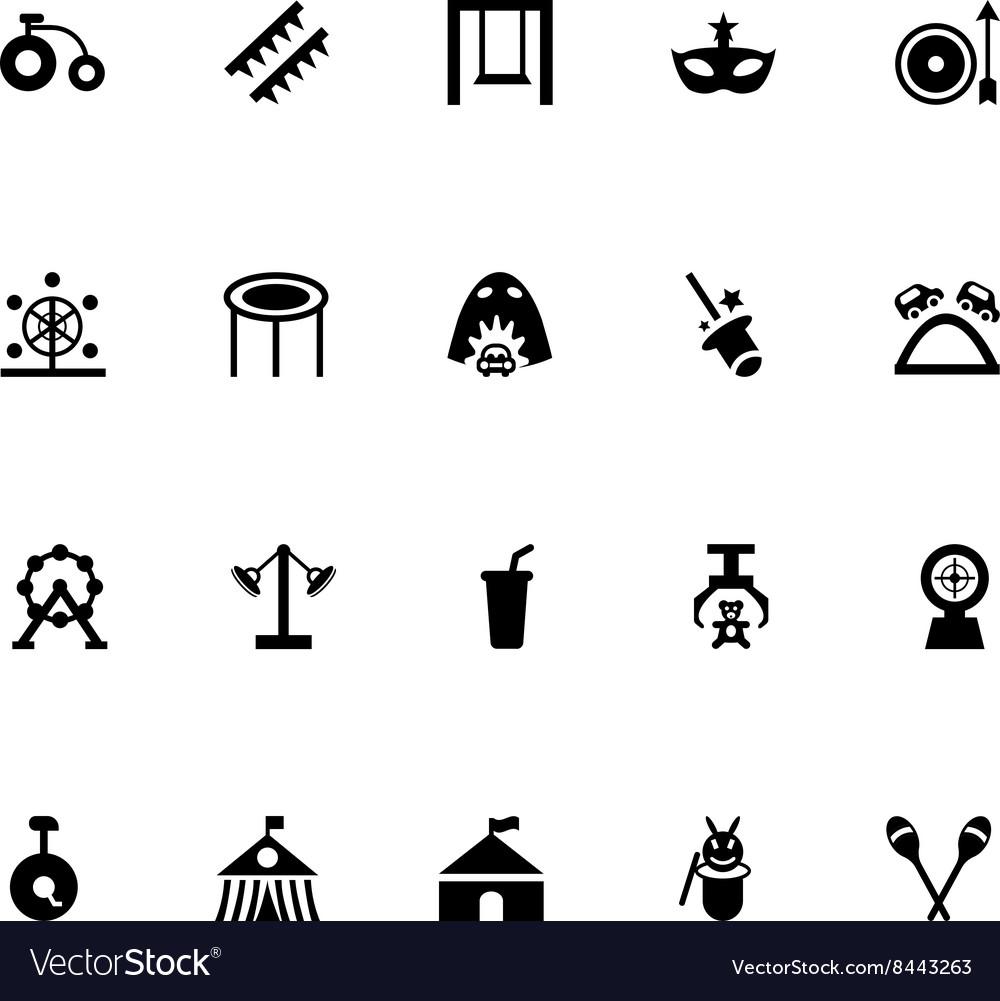 Amusement Park Icons 3