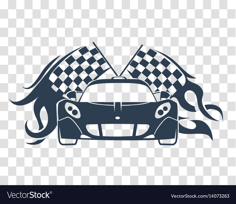 Sports Cars Silhouette Royalty Free Vector Image