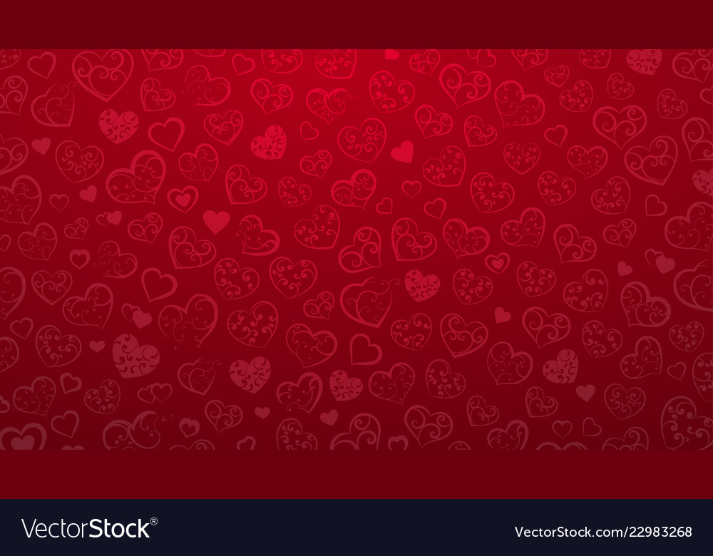 Background of small hearts