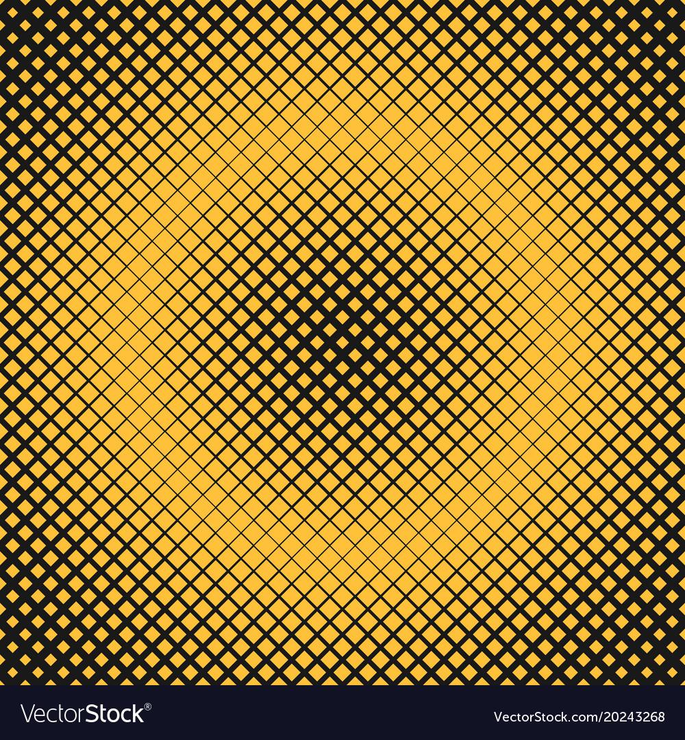 Halftone square background pattern design vector image
