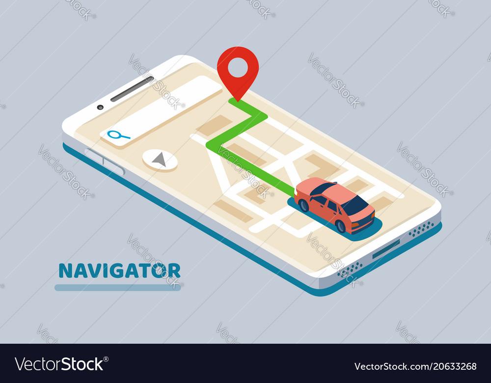 Modern isometric navigation