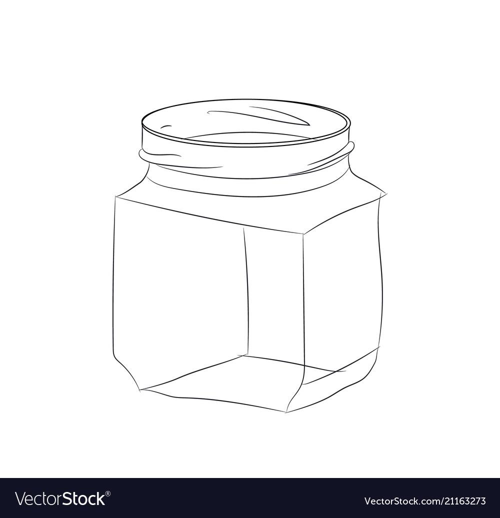 Glass jar line
