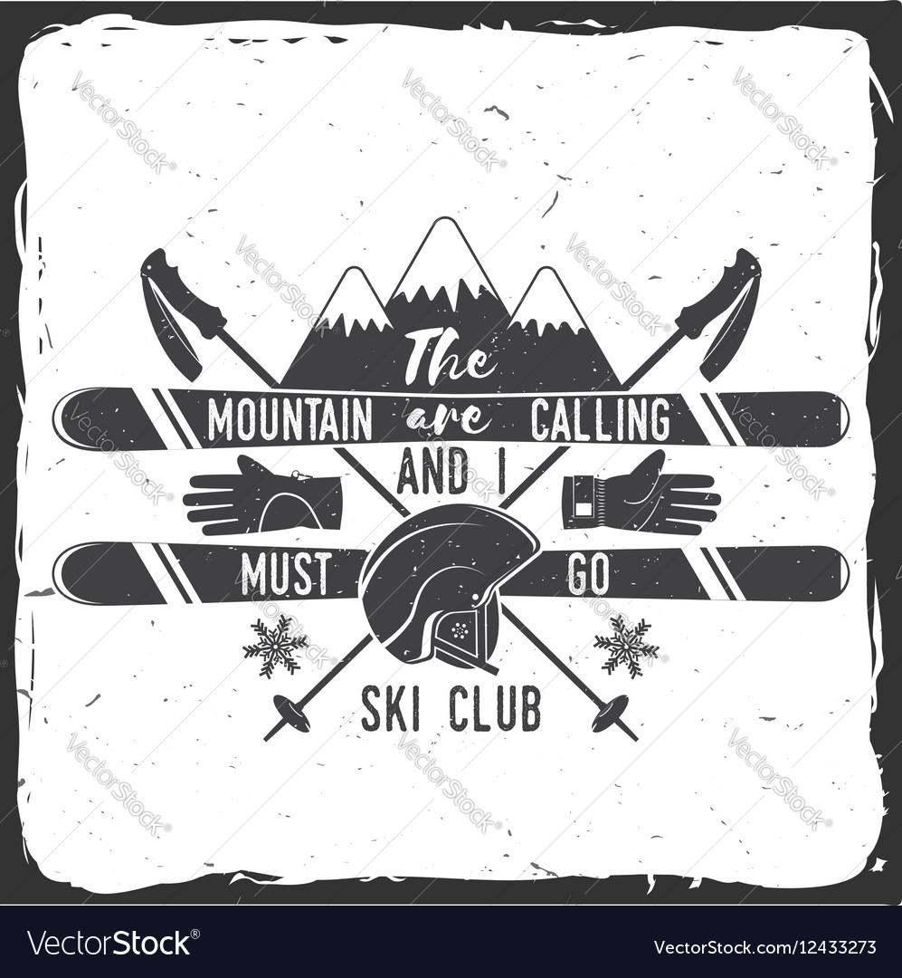 Ski club concept
