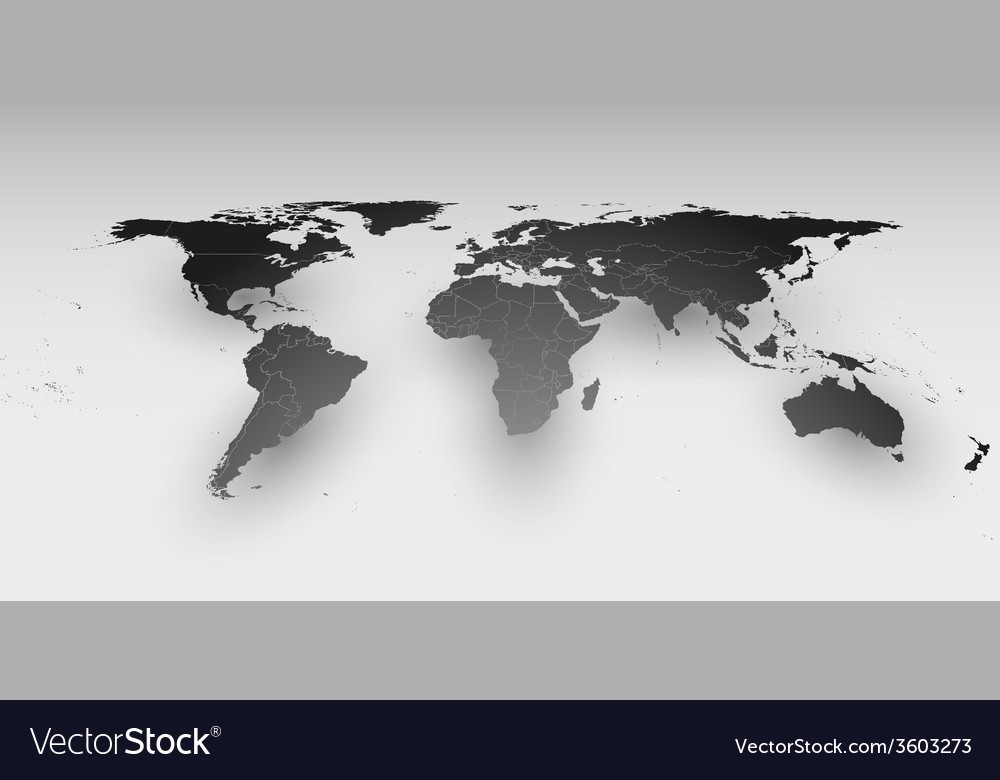 World map in perspective template for business vector image gumiabroncs Images