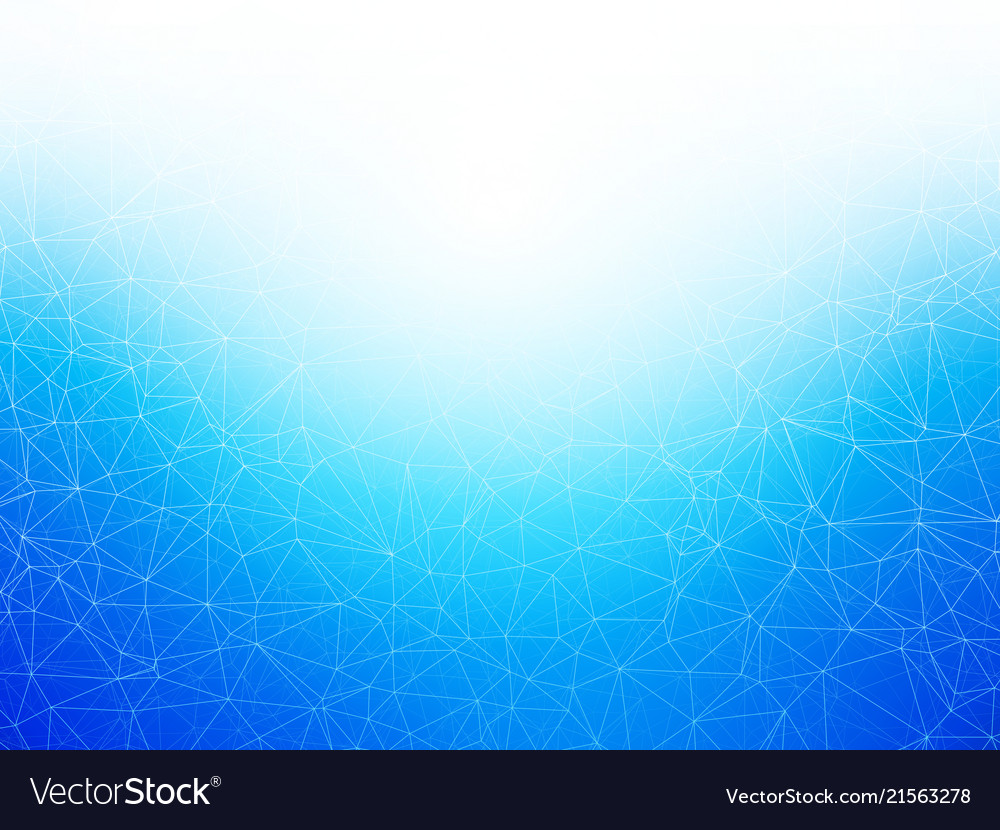 Abstract geometric blue network background