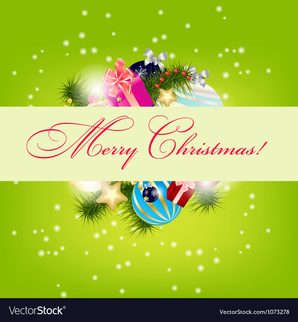 Christmas Card Background.Elegant Christmas Card Background