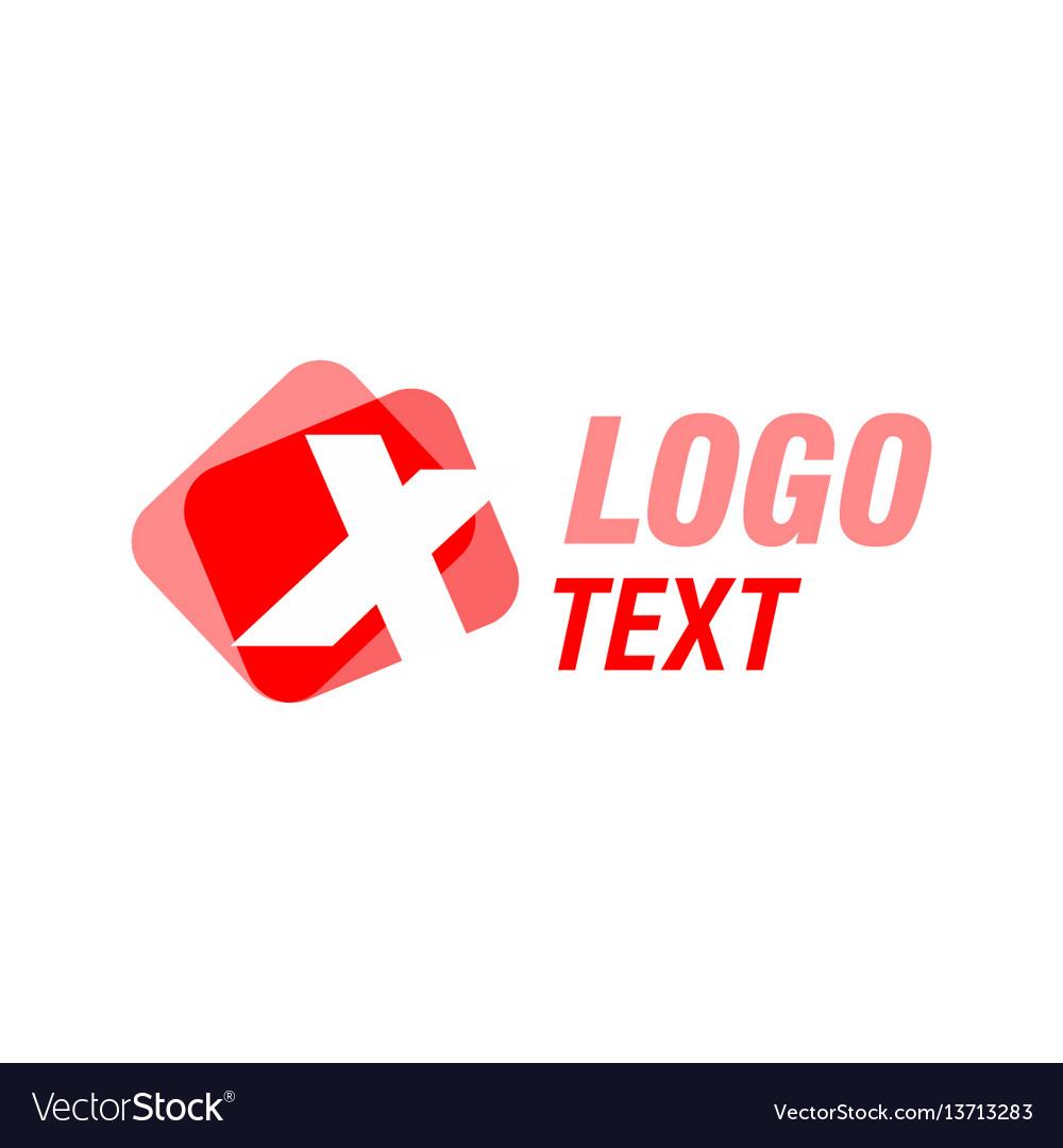 Letter x logo icon design