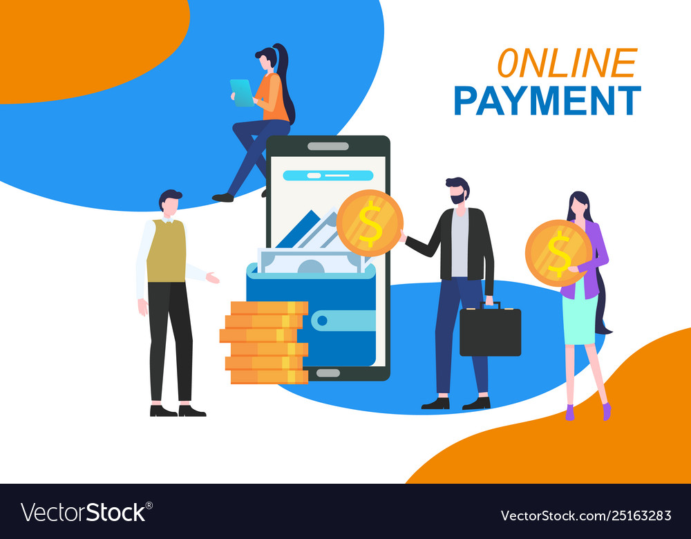 Online payment mobile phone app electronic wallet