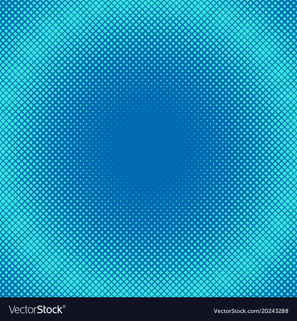 Geometric halftone square pattern background