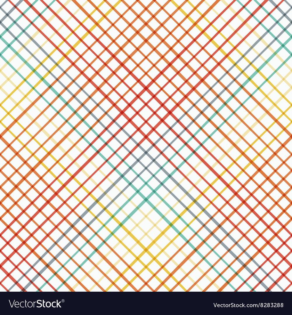 Geometric seamless pattern with cross lines