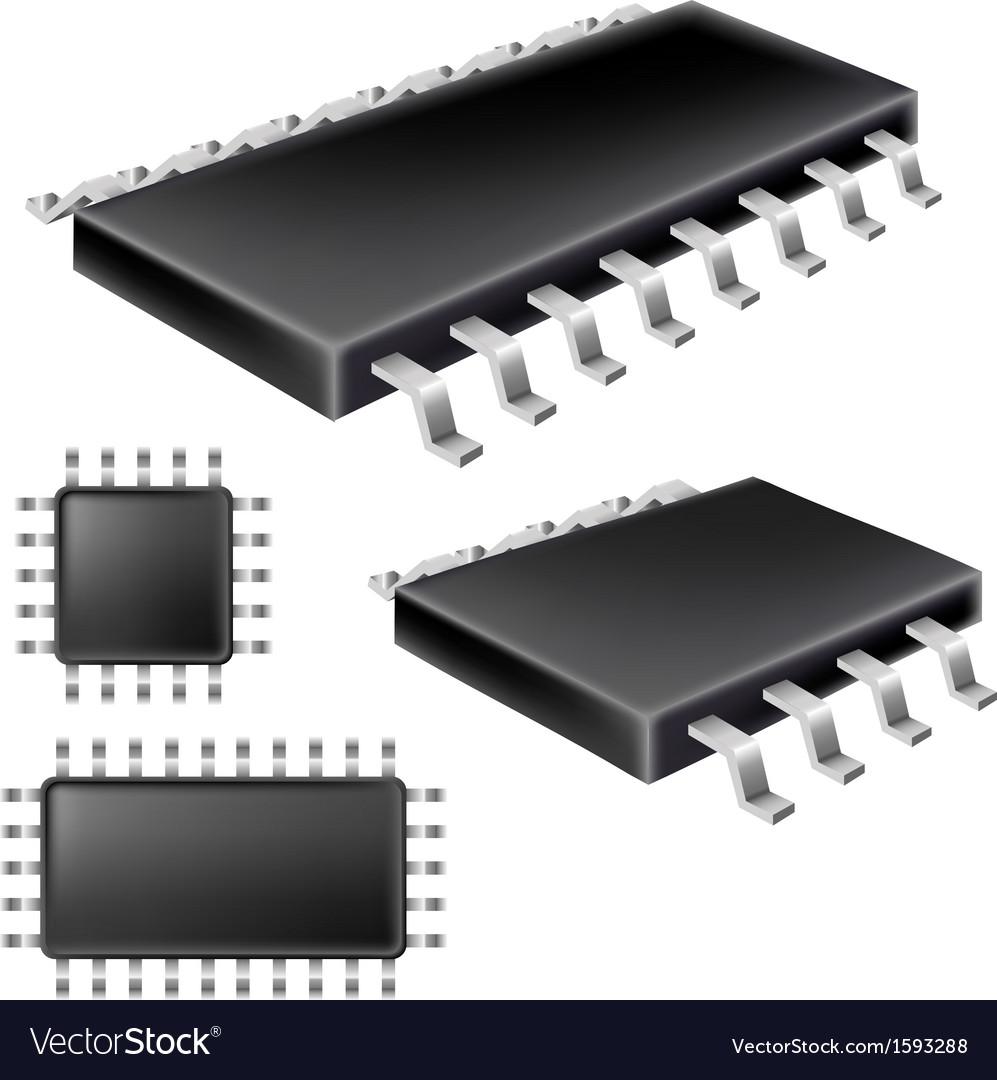 Microchip set