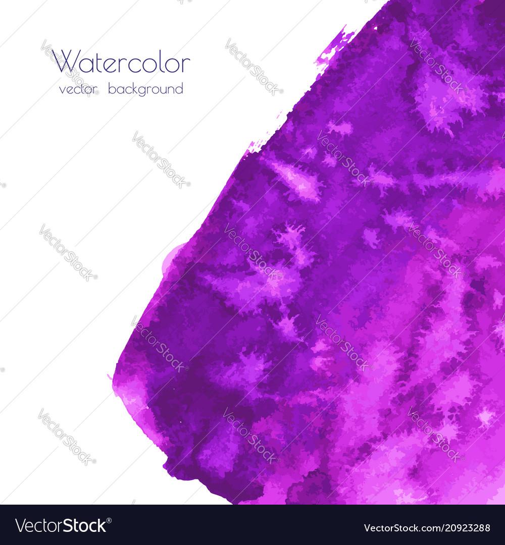 Violet purple lilac grunge marble watercolor
