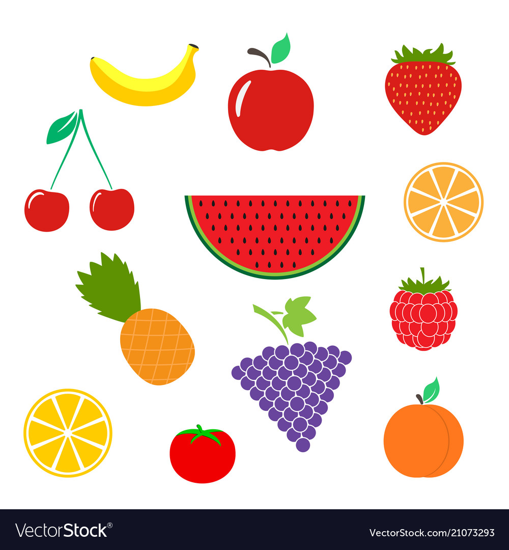 Magnificent Color Of Fruits Image Collection - Drawing Coloring ...