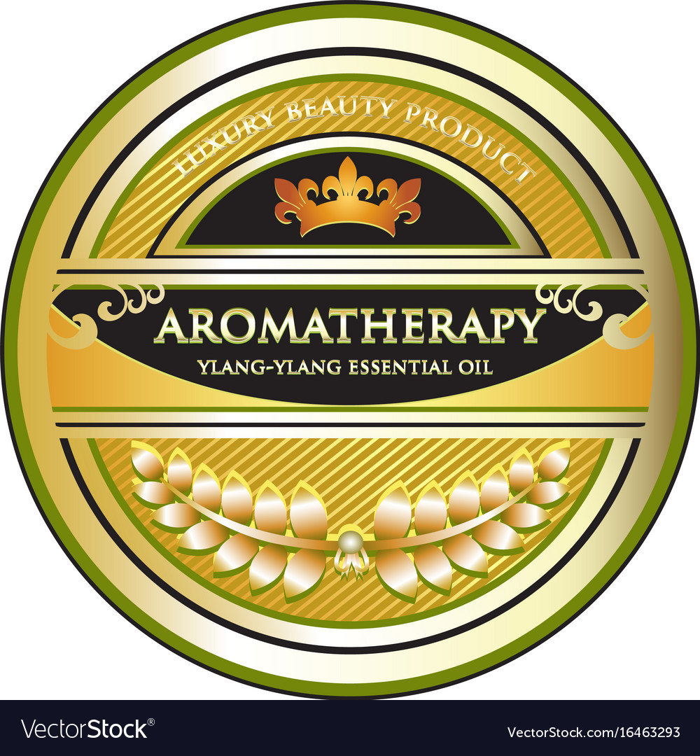 Ylang ylang aromatherapy essential oil icon