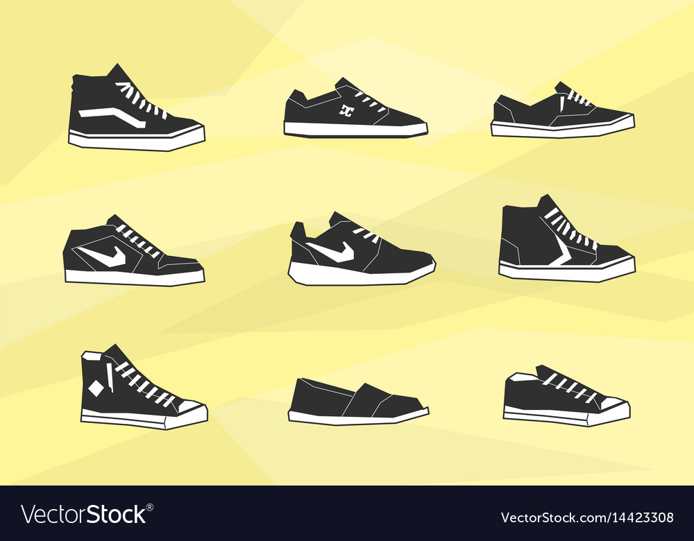 Men shoes icons