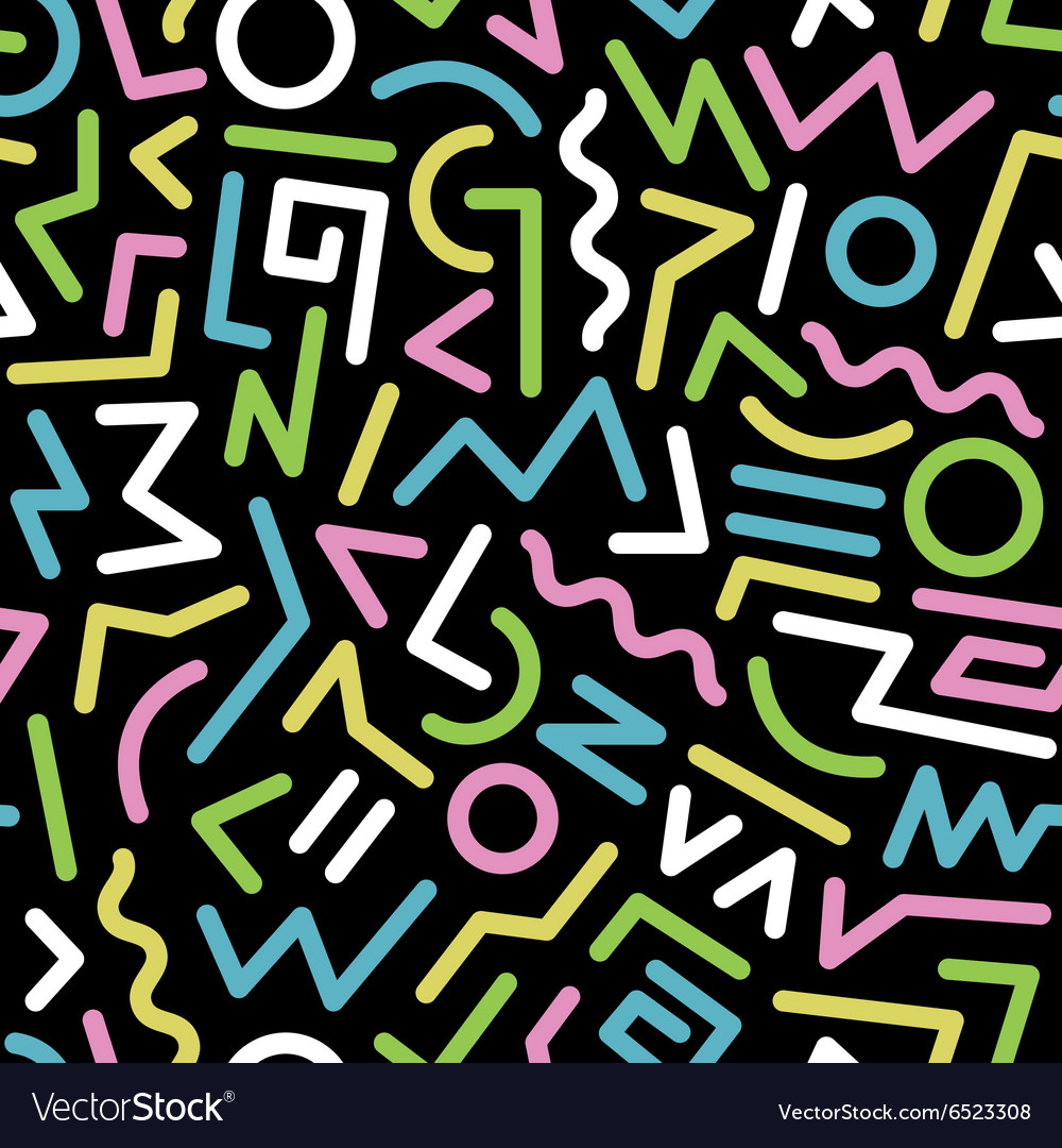 Seamless background 80s30 vector image