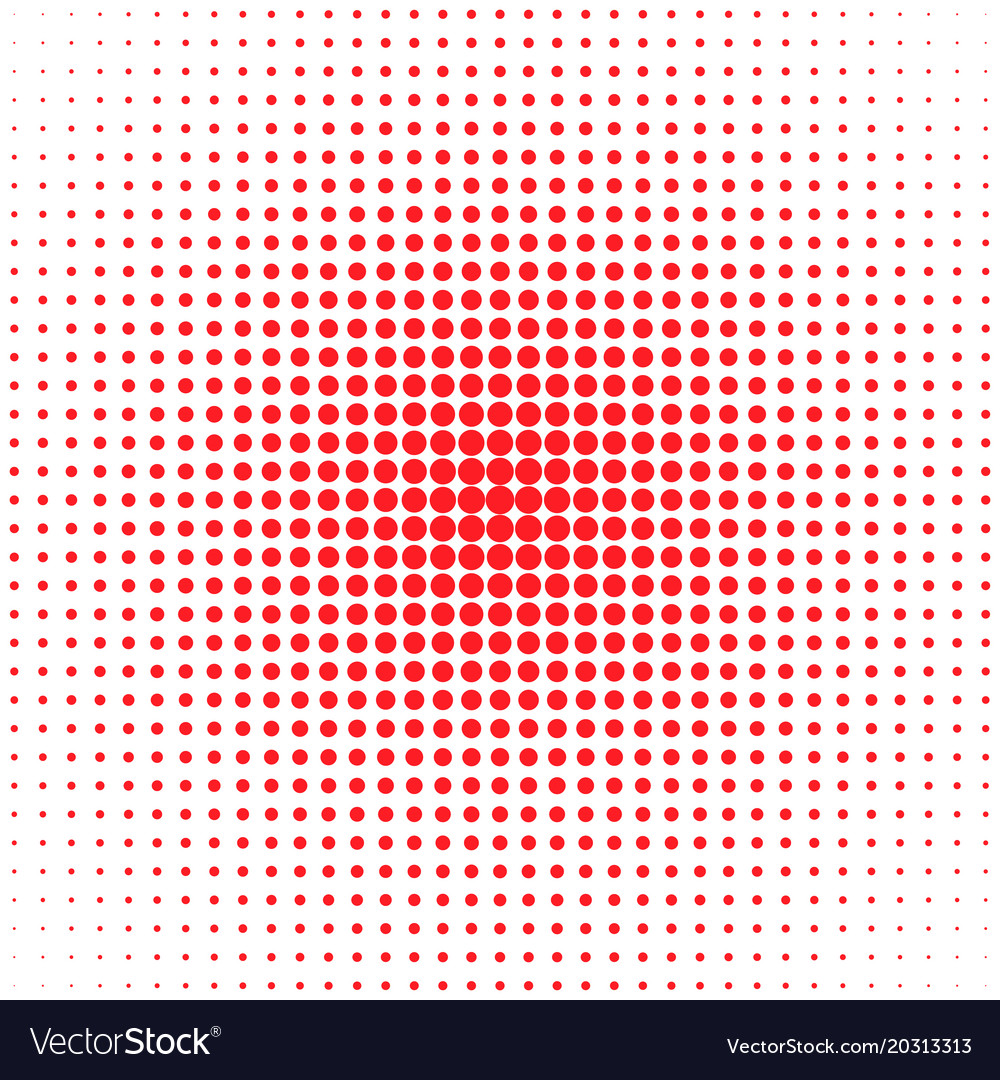 Geometric abstract halftone dot pattern vector image