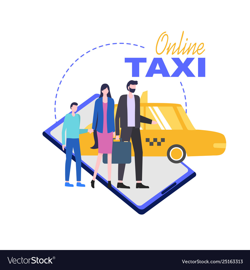 Online taxi mobile phone service