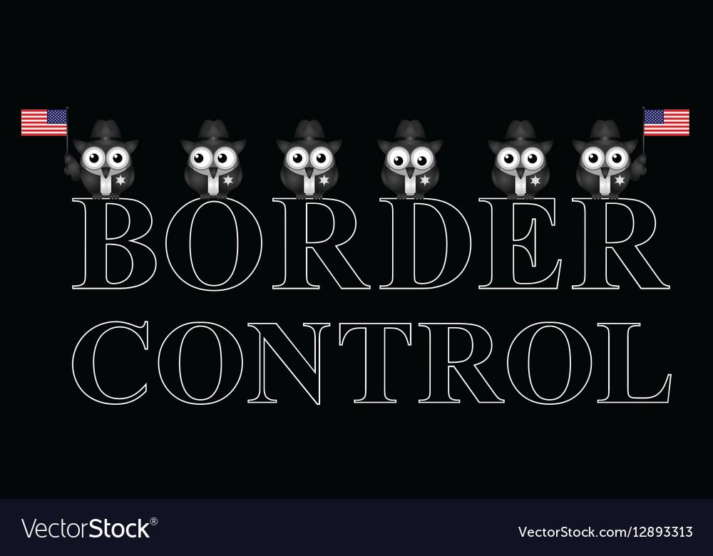 USA border control
