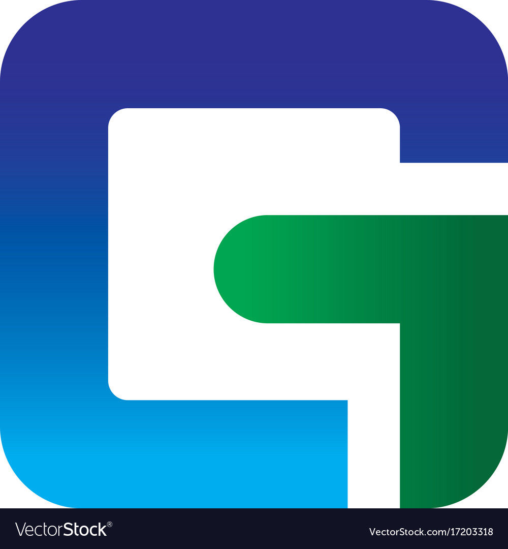 Abstract letter g business logo