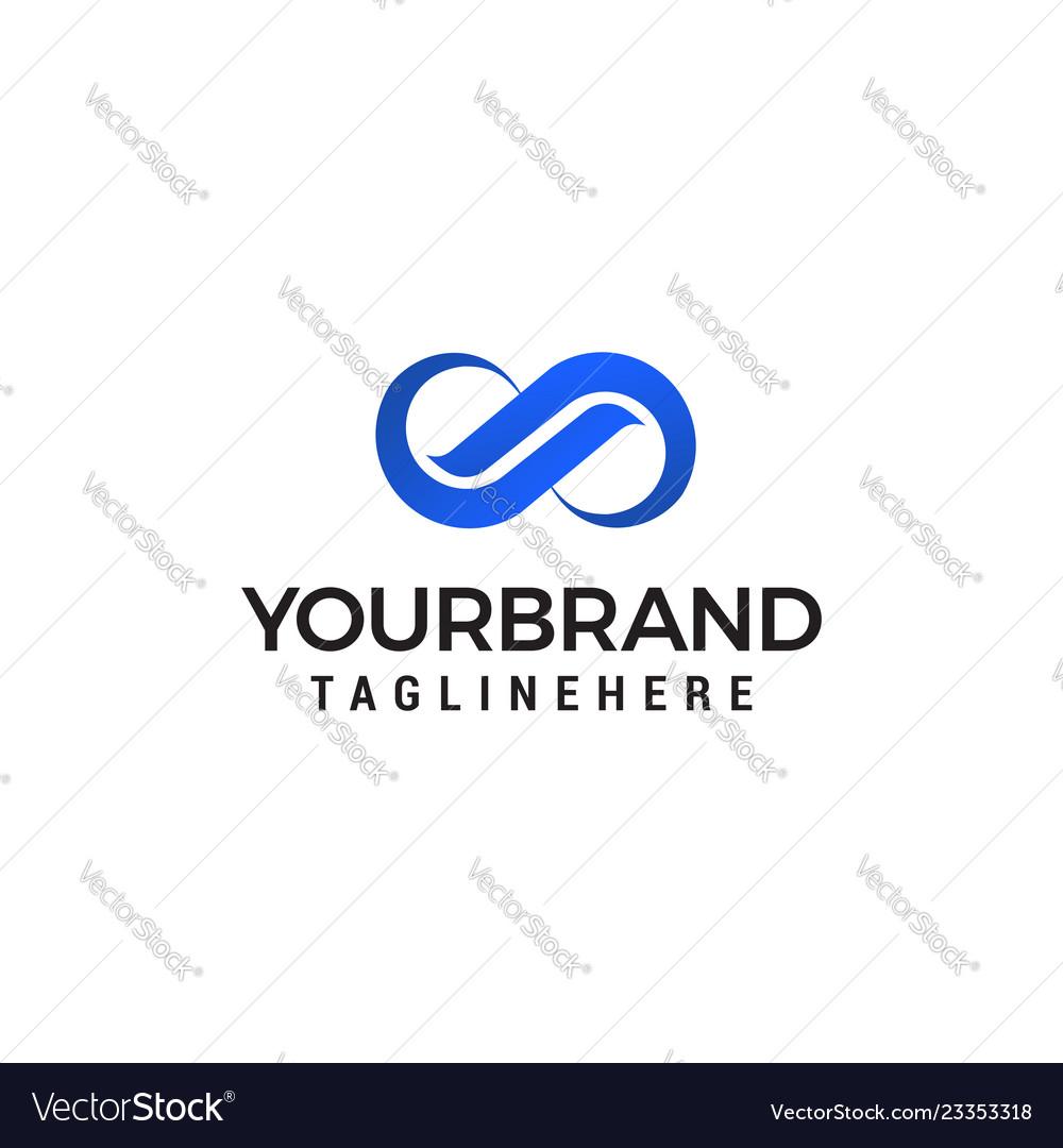 Unlimited logo logo design template