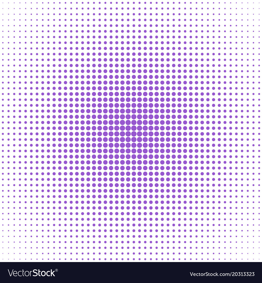 Retro halftone circle pattern background design vector image